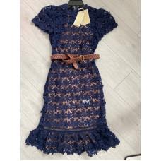 Michael Kors šaty s páskem