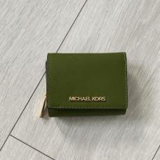 Michael Kors peněženka zelená