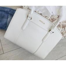 Furla kabelka bílá satchel