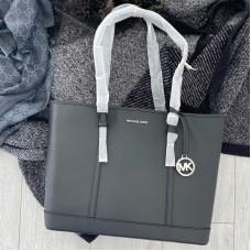 Michael Kors shopper kabelka černá / stříbrná