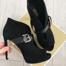 Michael Kors boty černé broušené